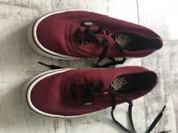Vans uk 4 maroon