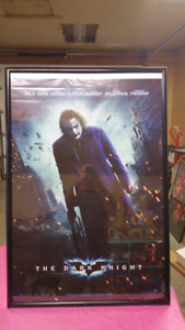 The Dark Knight Movie Poster (Framed)