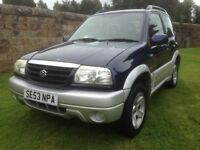 SUZUKI GRAND VITARA 16V SE 1.6 1ST CALLER WILL BUY