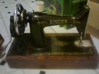 2 singer sewing machines