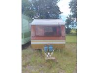 3-Berth Vintage 1970s Caravan