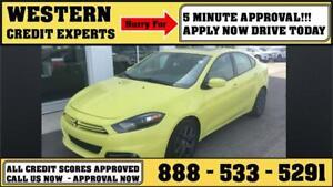 2013 Dodge Dart SXT ~ Turbo ~ Sunroof ~ 5 Min Approval $110 B/W
