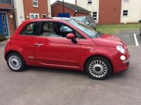 2008 FIAT 500 1.2 MULTIJET LOUNGE DIESEL LOW 71K FULL HISTORY