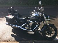 Dream Machine Cruiser Motorbike - great motorbike, low mileage