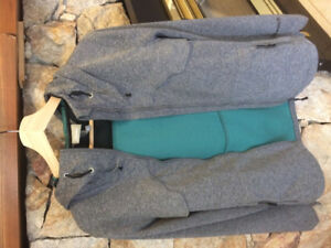 Grey Bench Jacket Windbreaker (Ladies M/8-10)