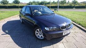 BMW 318I VERY NICE BROWN LEATHER INTERIOR M PACK AND ALLOYS LONG MOT BARGAIN