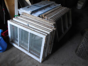 Used basement windows. 20 in all for $20.00