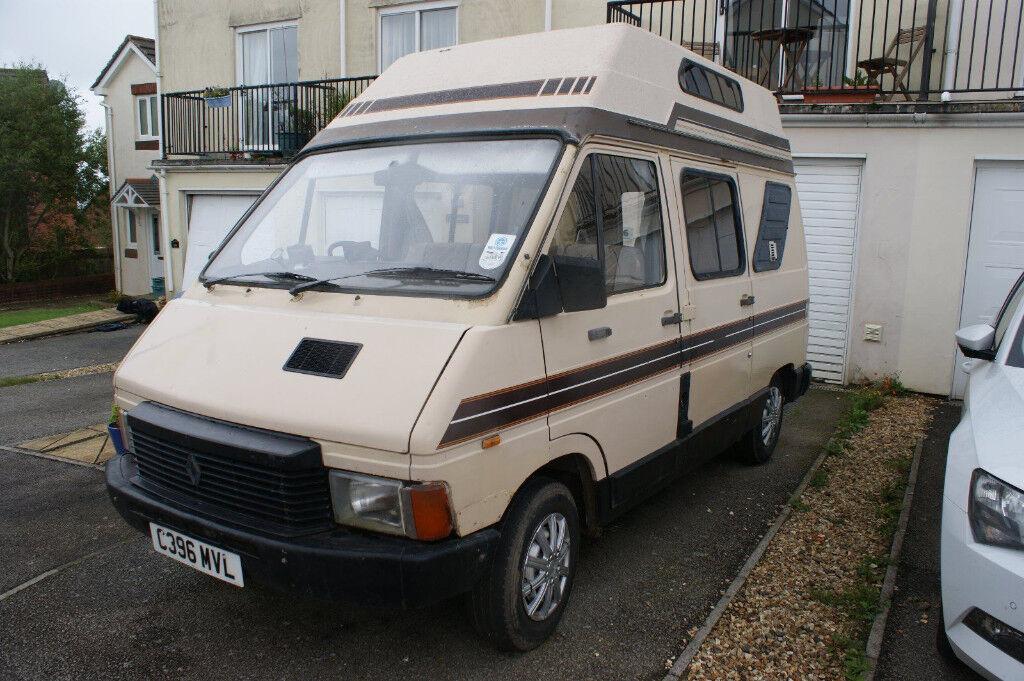 renault trafic campervan autosleeper 1986 in okehampton. Black Bedroom Furniture Sets. Home Design Ideas