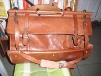Luxury Leather Briefcase Marque Cordiz