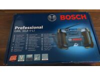 Bosch GML10.8 10.8v radio Professional Jobsite Radio NEW
