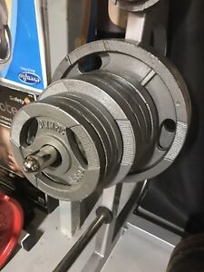 """245 lbs Olympic Weights, 2"""" Hole"""