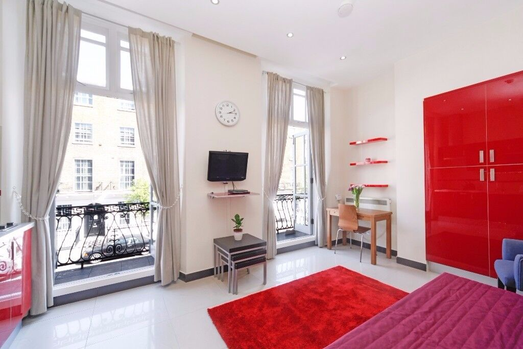 BRIGHT SPECIOUS STUDIO FLAT WITH BALCONY ***MARYLEBONE***