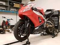 1998 yamaha r1 trackbike with v5