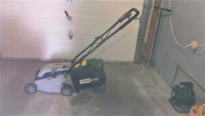 Electrical Lawn Mower in working condition
