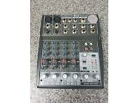 Behringer Xenyx 802 analogue mixer