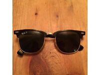 Ray-Ban Clubmaster (Black/Gold)