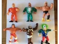 Wwf / Wwe Hasbro Wrestling Figures Lot 5