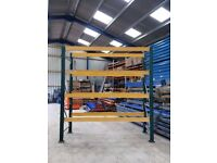 HEAVY WAREHOUSE PALLET RACKING UNIT BAY