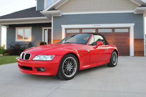 1998 BMW Z3 Convertible Roadster LOW KM