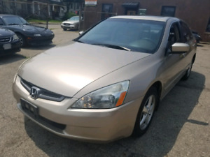 2003 Honda Accord EXL and certified $3500.00