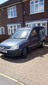 Wheelchair Accessible Vauxhall Combo 2010, Exceptionally Low Mileage, Electric Winch, Gowring