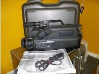 panasonic m10 vhs stereo full size camcorder
