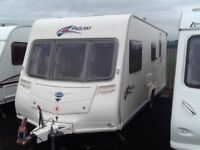2008 Bailey pageant Champagn series 6 /4 berth end changing room with awning