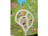 Colourful kids rug
