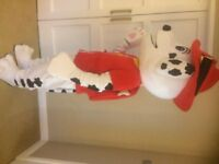 UK SELLER look alike Full Marshall Mascot Costume Dog Dress £139.99 plus £13 postage