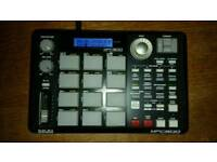 Akai MPC500 - fully expanded, with 2Gb and 128Mb CF cards