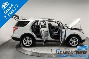 2013 Ford Explorer Limited, AWD, NAV, CUIR, TOIT, 7 PASSAGERS