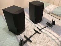 technics loudspeakers and speaker brackets