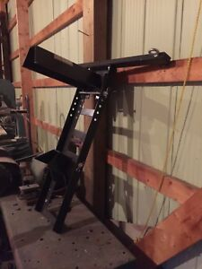 Motorcycle trailer mount