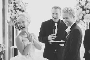 Wedding Officiant: Feel like a Celebrity