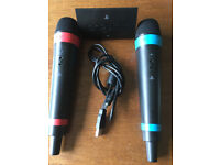 Singstar microphones for PS2 & PS3 cordless