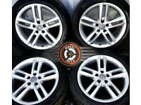 "18"" Genuine Audi S Line twin spoke alloys excellent cond, premium tyres."