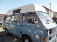 VW High Top T3 Camper van