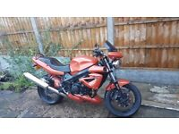 Triumph Speed Four Orange For Sale 2004 16800miles Great Bike