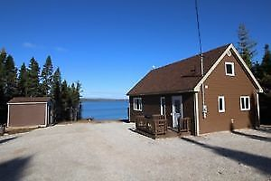 Waterfront Cabin on Sandy Lake in Howley , Newfounland !