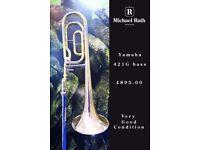 Yamaha 421G Bb/F Bass Trombone