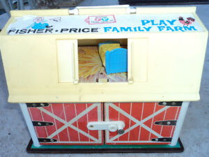 Vintage Fisher Price Family Play Farm-Reduced $25.00