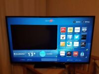 "SmartTV 50"" HITACHI with Wi-Fi Full HD LED with Freeview"