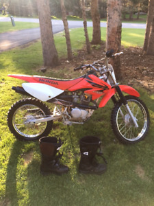 2007 Honda CRF100F for sale. Starts with first kick!