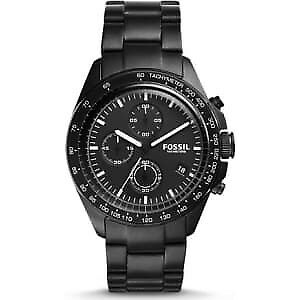 Fossil Men's CH3028 Sport 54 Chronograph Black Stainless Steel