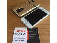 White & Gold iPhone 5S. 3 month warranty. Card payment & Delivery available