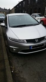 Silver 2011 Honda Civic 1.8 i-VTEC Si 5dr Manual Petrol Hatchback
