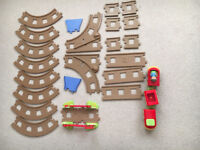 ELC Happyland Railway Track Set Toy with extra tracks