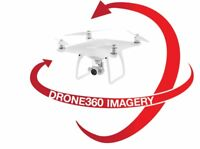 360Drone Imagery - Warehouse, land, work site, lot, route, etc.