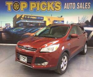 2014 Ford Escape SE, AWD, ALLOY WHEELS ,  NAVIGATION, 2.0 LITER!