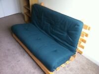 Futon double bed as new